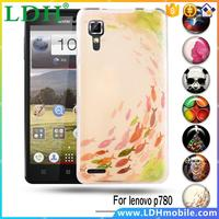 Soft TPU Painted Phone Case For Lenovo P780 P 780 Back DIY Flexible Cases Covers For Lenovo P780 Rubber Skin Shell Shield