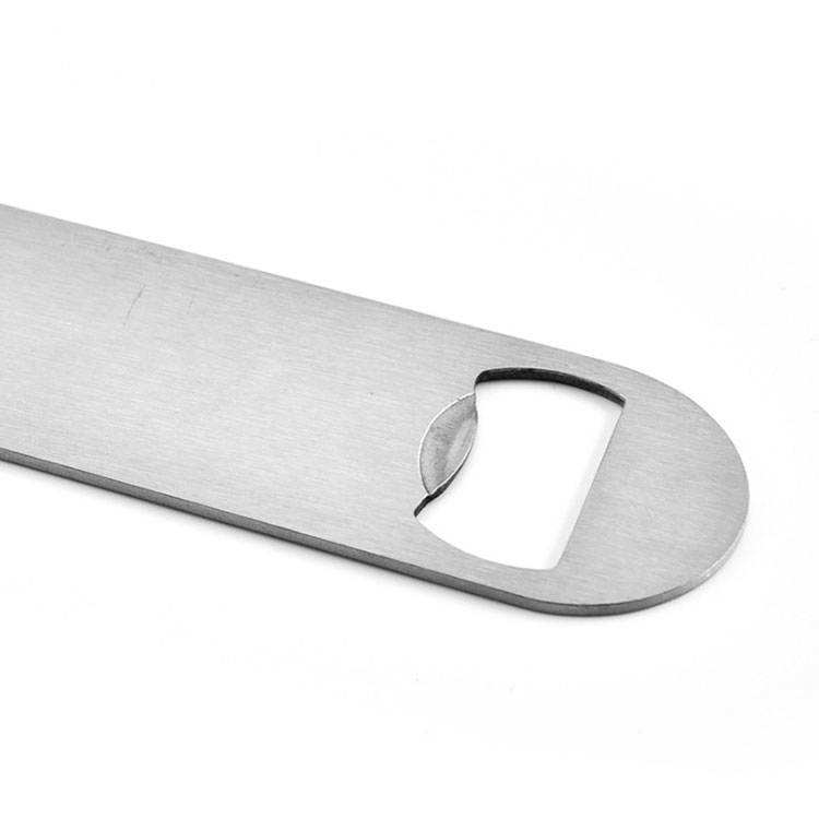 Wholesale gift metal silver stainless steel wine bar bottle opener