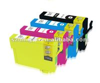 office supply print compatible inkjet cartridge for Epson T1331/T1332/T1333/T1334 ink cartridge clips