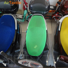 100% polyester elastic motorcycle seat cover mesh fabric