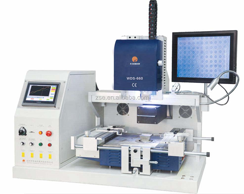 Lower price used automatic bga rework station for mobile phone pcb board