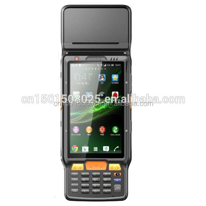 Android handheld courier pda phone with barcode scanner, RFID reader 3G wifi bluetooth (QS )