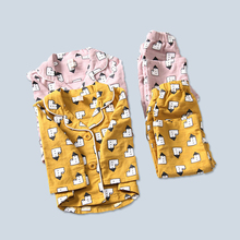 Child suit cartoon home service pajamas autumn custom design baby clothes