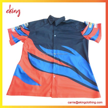 Made your own design motorcycle shirt dye sublimation racing jersey