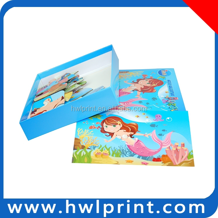 2014 new design Paper educational toys for kids