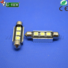 36mm CANBUS NO Error Festoon 3 led 5050 smd Car Licence Plate Light Auto housing Interior Dome lamps Reading Lights