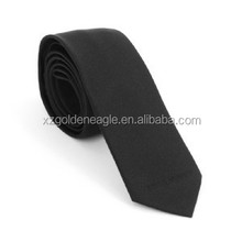 Black Color 2016 The Latest Fashionable Narrow Tie 100% Silk