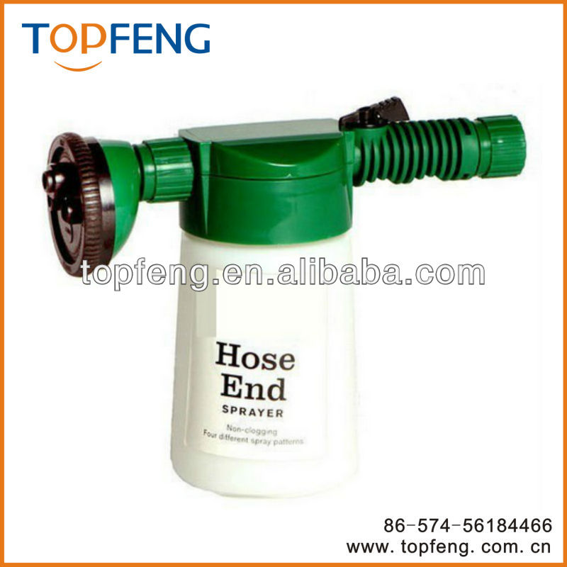 hose end sprayer/ hose end pressure sprayer/ plastic bottle hose sprayer