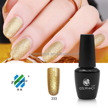 UV/LED gel different colors nail gel soak off nail gel polish shiny manufacturer in China