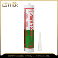 Small Tube Quick Drying Heat Resistant General Purpose Acetic Fireproof Adhesive Silicone Sealant G1200 Msds