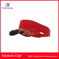 Custom Golf Washed Visor Cap Ladies Golf Hats Baseball Caps With Printing on Brim