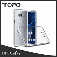 Clear PC TPU Protective Back Case Cover Soft Shell Skin For Samsung galaxy S8/S8 cover protective shell