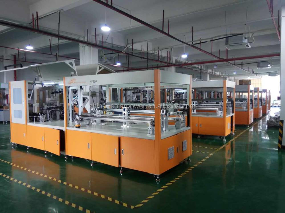 Sunnyworld Automatic Cut Cell Tabber Stringer Machine H730