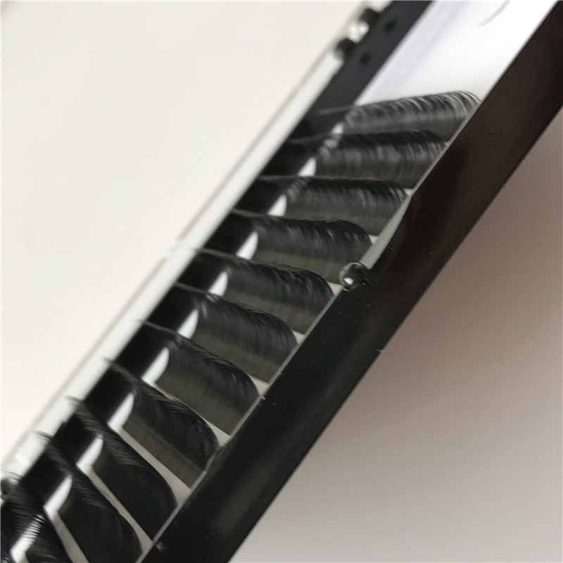 Individual Eyelash Extension 0.15 0.20mm Thickness C D Curl <strong>Flat</strong> and classical Lashes