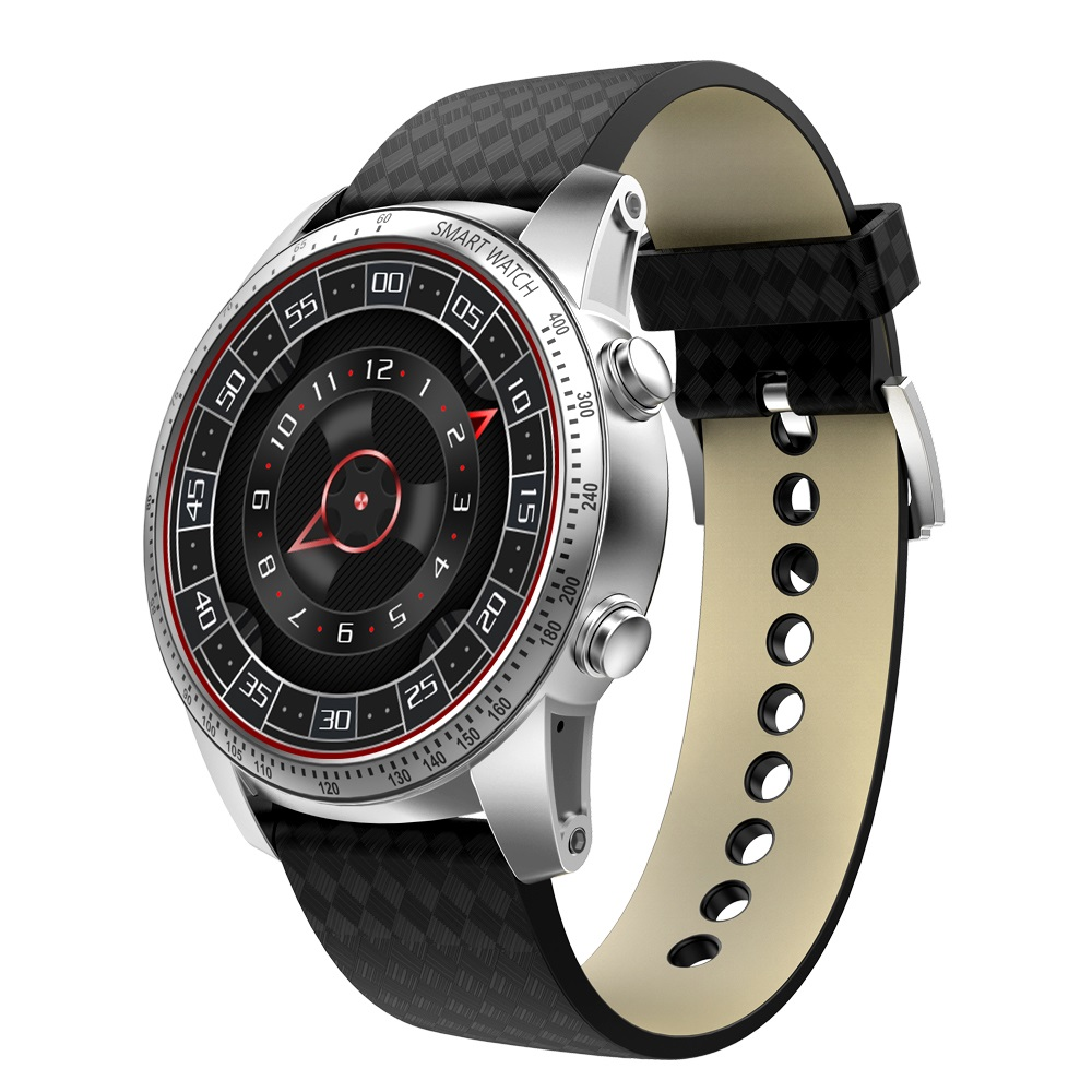 Free Shipping Smart Watch Men KW99 Heart Rate Monitor Android 5.1 OS Bluetooth 1.39 Inch 8G WIFI GPS SIM Smart Watch