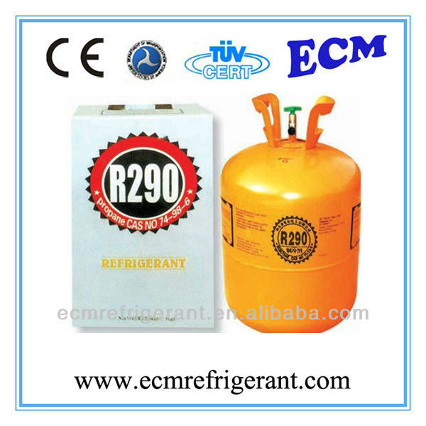e-cool refrigerant propane r290a (also supply r600 r600a r290 )