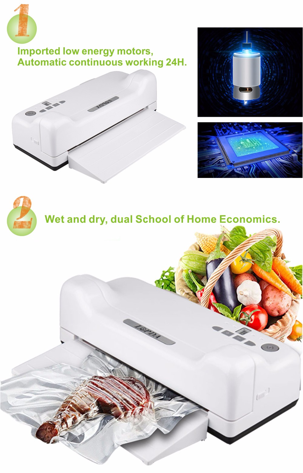 Portable commercial high quality vacuum sealing machines for medicines
