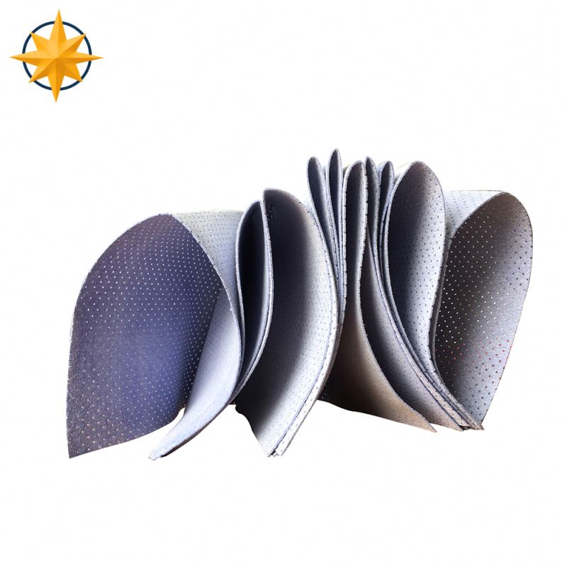 new arrival eco-friendly nonwoven fabric used for compositing with pu sponge