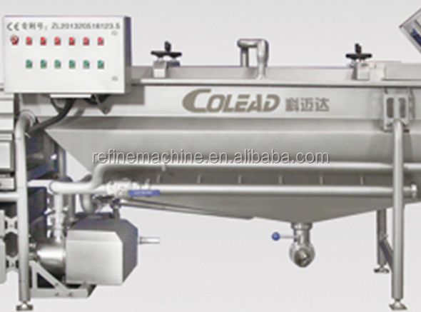 Hot sales vegetable washing machine /sald production line /vegetable processing line from Colead