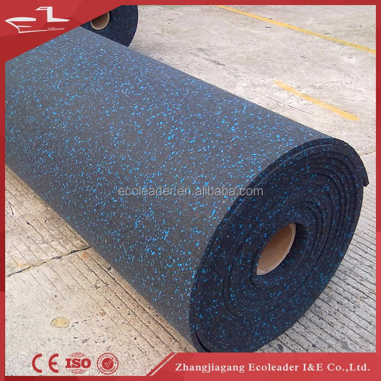 Rubber gym flooring rubber mat,lamiate floor with eva backing