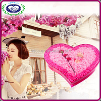 Hot seller harmless romantic valantine's day perfect gift rose flower soap