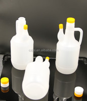FDA QS approved HDPE plastic bottle container for soy and milk