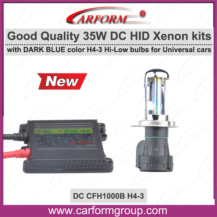 China manufacturer metal case headlight kit xenon hid headlight h1r2