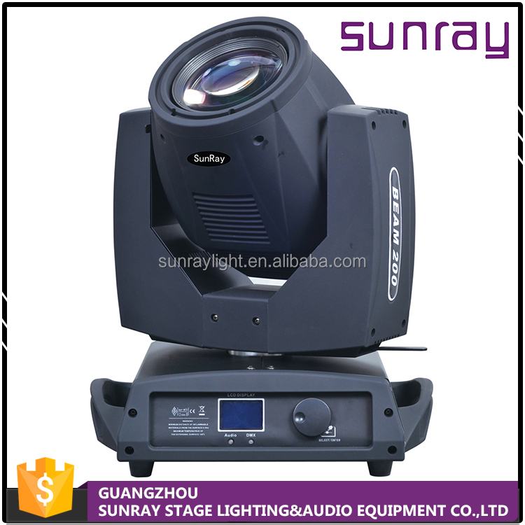 Wholesale Price Energy Saving 16 Channel Control Dj Club Use Sharp Beam 200 Moving Head Light