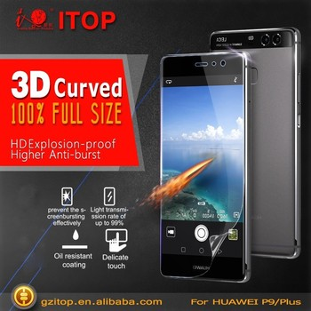 ITOP Full Cover Screen Protector Best Screen Guard For Huawei P9 Screen Protector