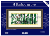 The beautiful scenery of bamboo dome cross stitch, cross stitch kit, DIY embroidery kit, 40% discount for you