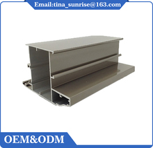 New design sunrise aluminium section profile for window and door