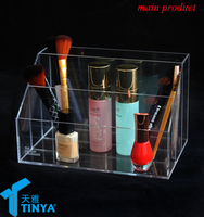 acrylic household items clear vanity acrylic cosmetic makeup organizer makeup brush holder