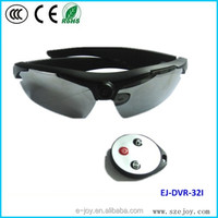 High Quality glasses camera 5.0 Mage 720P remote control Sunglasses eyewear camera