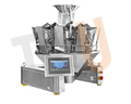 Automatic 10 Head SIEMENS/Allen-Bradley PLC Multihead Combination Scale for Puffy Food Packaging Machine