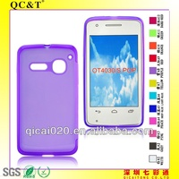 Skin cover phone case for Alcatel one touch S POP/OT4030