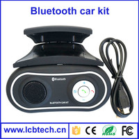 Wireless bluetooth speaker phone Car Kit with more human operation