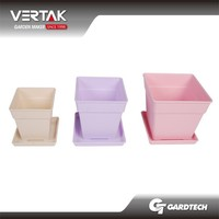 Familiar with OEM popular planting pots plastic