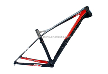 Wholesale 29er mtb carbon frame for mountain bike, size in 16/18''