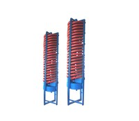 Gold Mining Equipment vibrating chutes gravity spiral chute