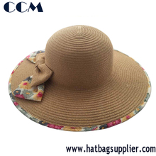 Alibaba China Wholesale Women Summer Paper Straw Hats