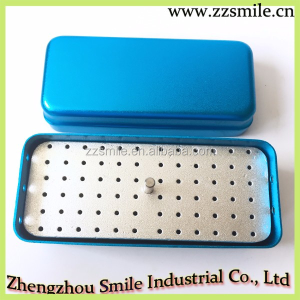 CE Approved New Dental 72-hole Bur Disinfaction box