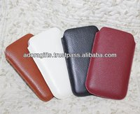 ADALMC - 0025 Black cell phone covers / pu leather cell phone cases wholesale / leather mobile protection covers