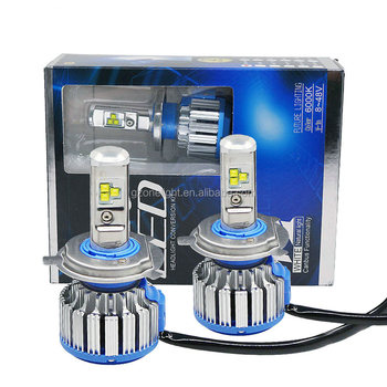 Factory supply Original T1 T6 R8 bright led headlight H7 H9 H10 H11 good price car safety driving bulb turbo lamp