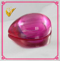 wholesale synthetic ruby cabochon pear shape ruby cab