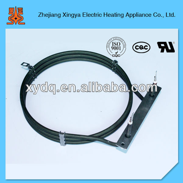 Circular heater, Coil Tube Heating Element