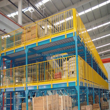 Jracking adjustable Q235 power coating ISO9001&CE multi-layer steel warehouse multi-level mezzanine flooring