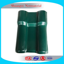 China Supplier Of Spainish Plastic Roofing Sheet Resin Roof Tile