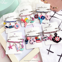 korean pin brooch charms pins brooch, jewelry bulk buy from china (SWTMD2655)
