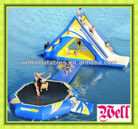 crazy inflatable water slide combo/ gaint inflatables water toys