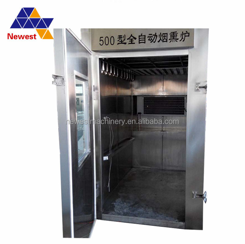 Stainless steel salmon fish cold smokehouse/cold smoking oven machine/cold and hot smoke house
